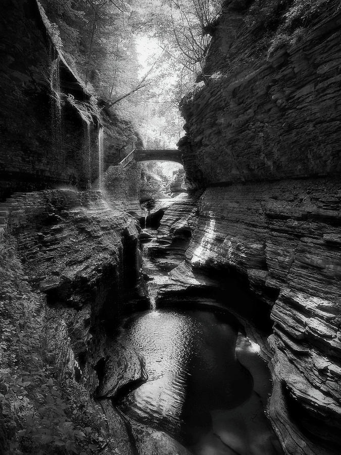 Watkins Glen Photograph - Watkins Glen by Scott Fracasso