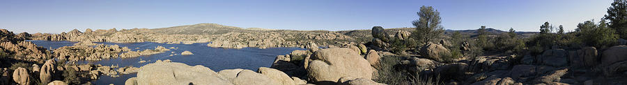 Panorama Photograph - Watson Lake by Austin Troya