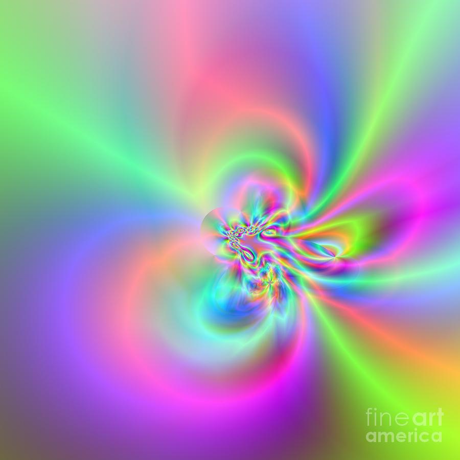 Abstract Digital Art - Wave 005a by Rolf Bertram