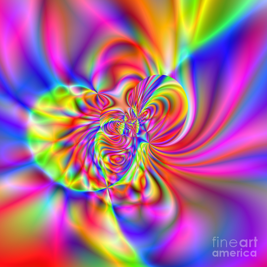Abstract Digital Art - Wave 006b by Rolf Bertram