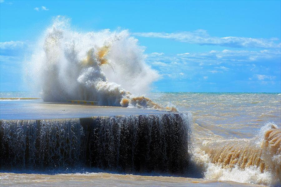 Waves Photograph - Wave Baby by Karl Anderson