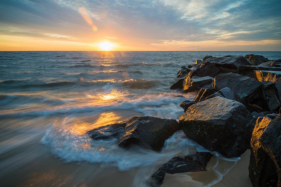 Wave Break Photograph by Kristopher Schoenleber