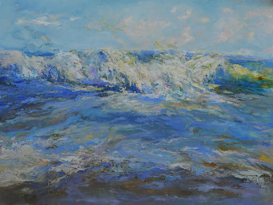 Wave break by Patricia Maguire