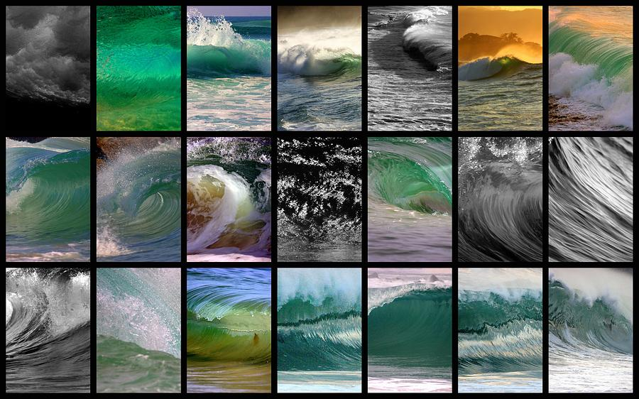 Landscape Photograph - Wave Chart by Brad Scott