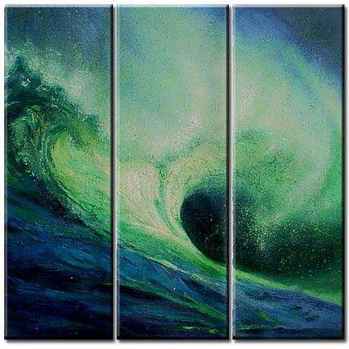 Seascape Painting - Wave by Yvonne Yu