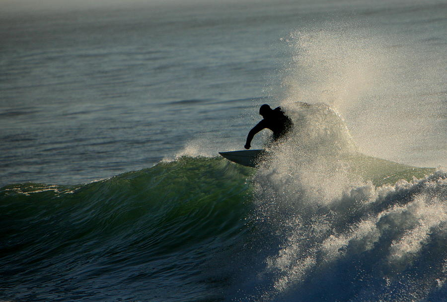Surf Photograph - Waverider by Mike Coverdale