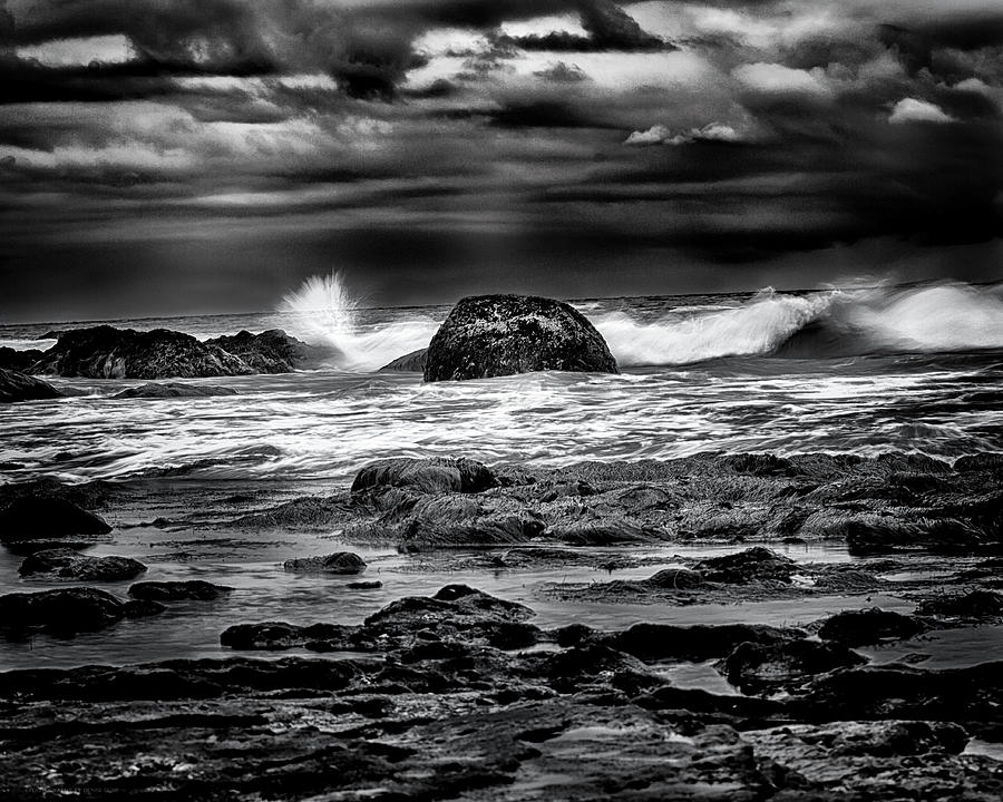Waves At Dawn by Denise Dube