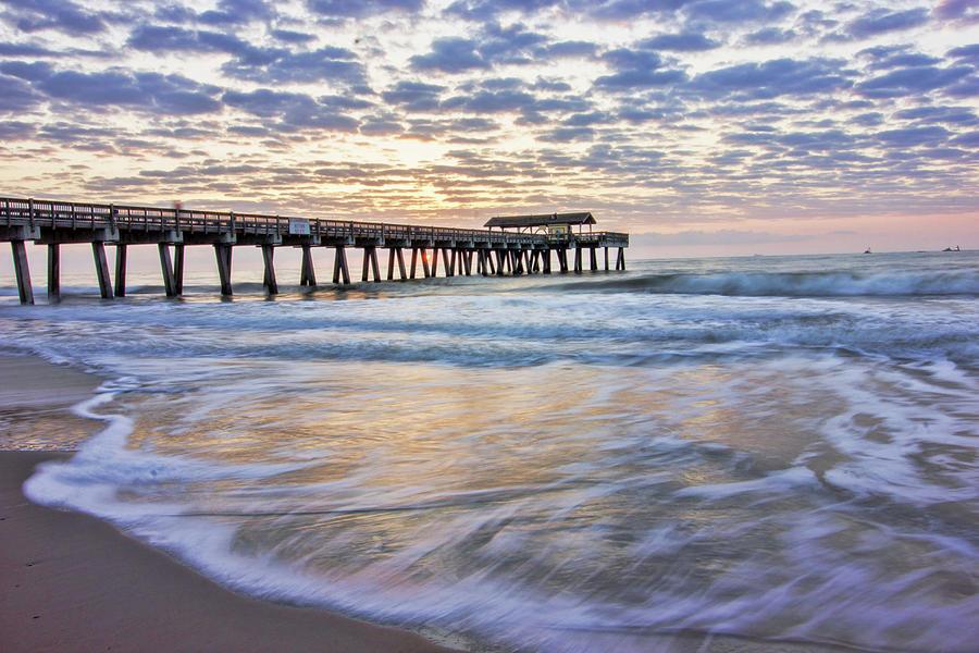 Waves at Sunrise by Angel Sharum