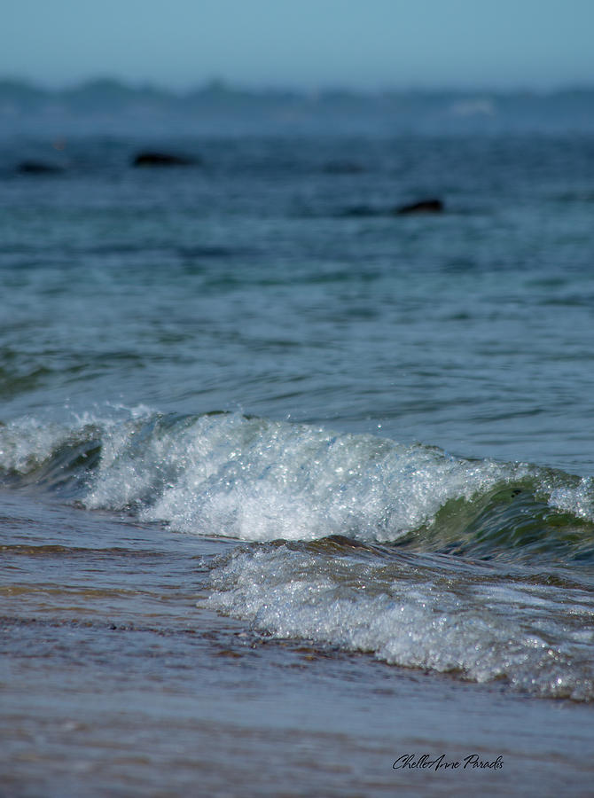 Waves Photograph - Waves by ChelleAnne Paradis
