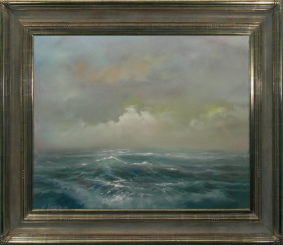 Waves Painting - Waves by Demetrios Vlachos