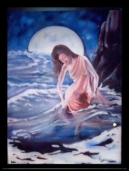 Waves Painting by Dr Ruchi Vidyarthi