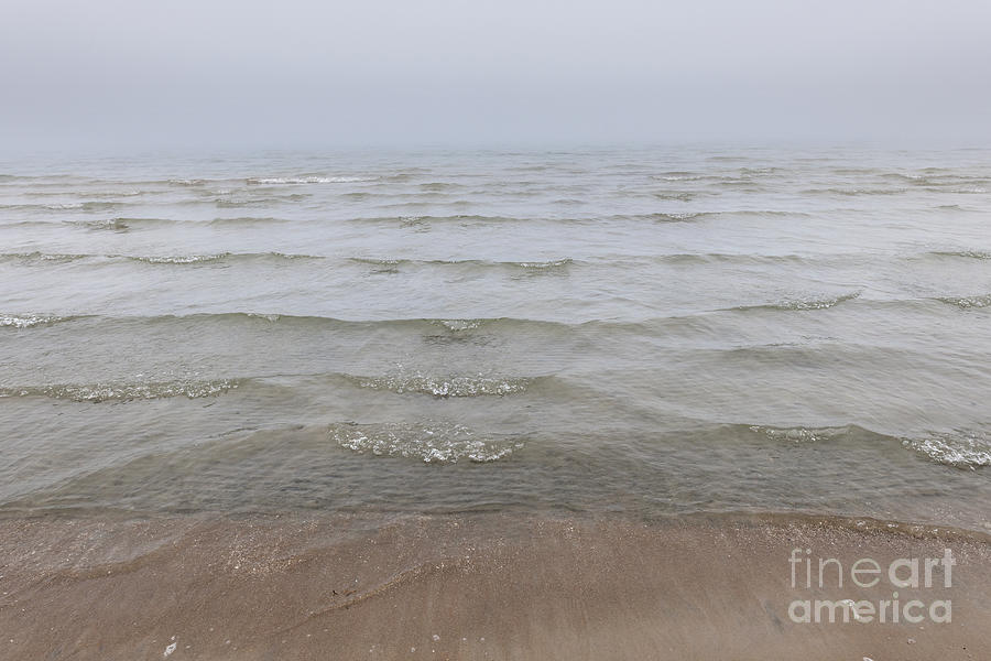 Waves Photograph - Waves In Fog by Elena Elisseeva