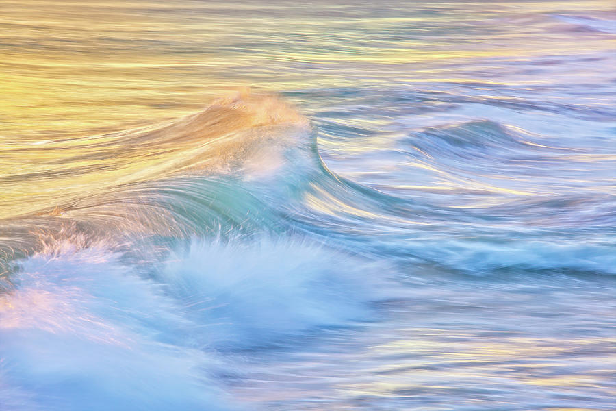 Waves In Motion, Quinns Rocks, Perth, Western Australia by Dave Catley