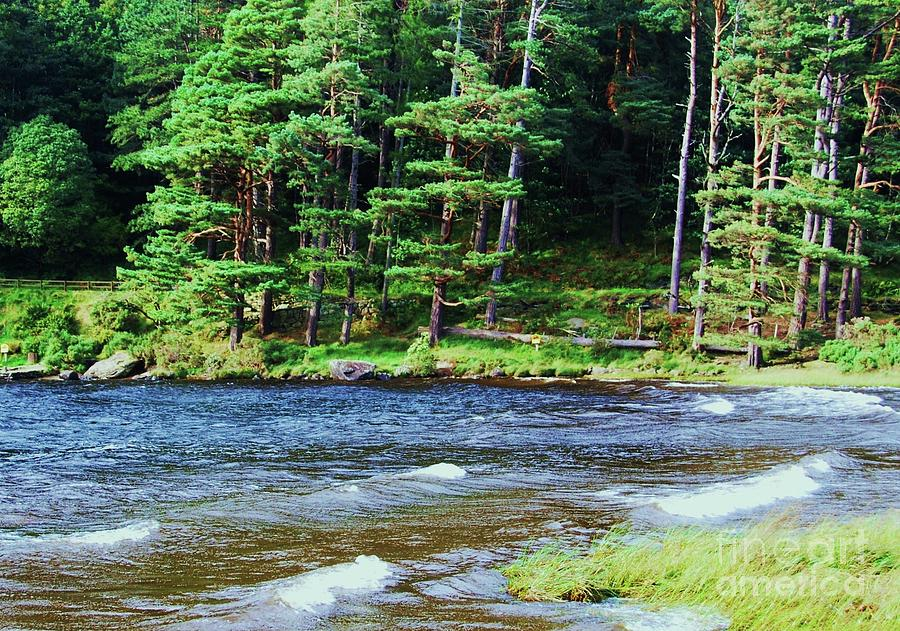 Waves On The Lake At Glendalough Photograph by Marcus Dagan