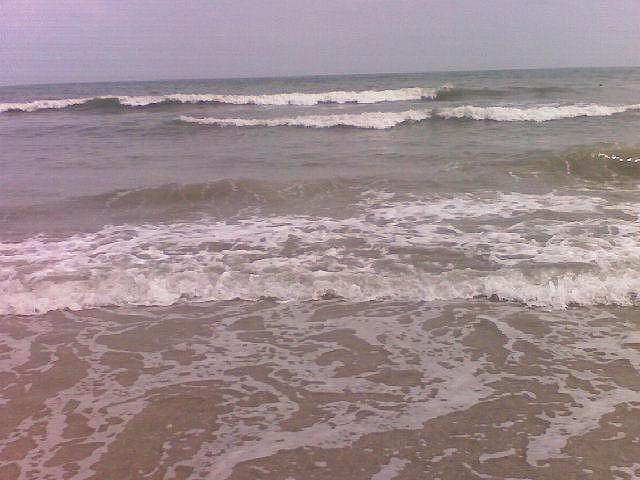 Water Photograph - Waves Rolling In by Lila Mattison