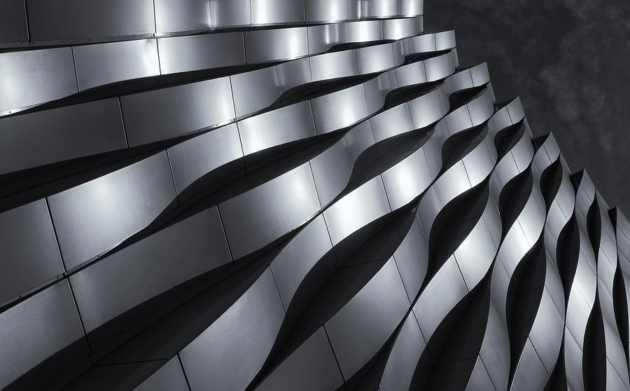 Architecture Photograph - Waving by Jeroen Van De Wiel