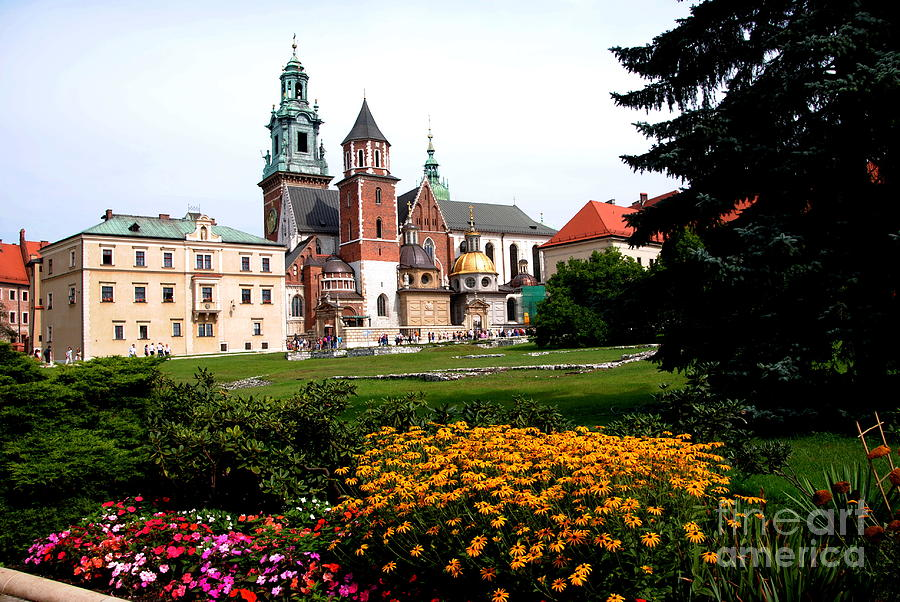 Poland Photograph - Wawel Cathedral In Krakow by Jacqueline M Lewis