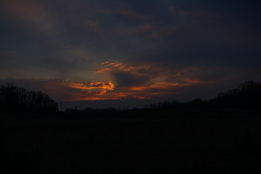 Waxhaw sunset by Daniel Brinneman