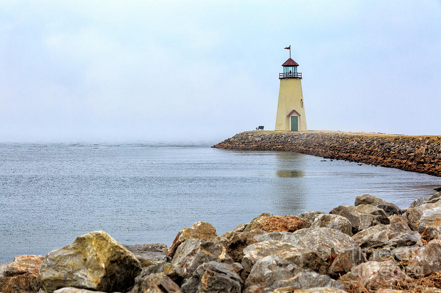 Lighthouse Photograph - Way To The Lighthouse by Terri Morris