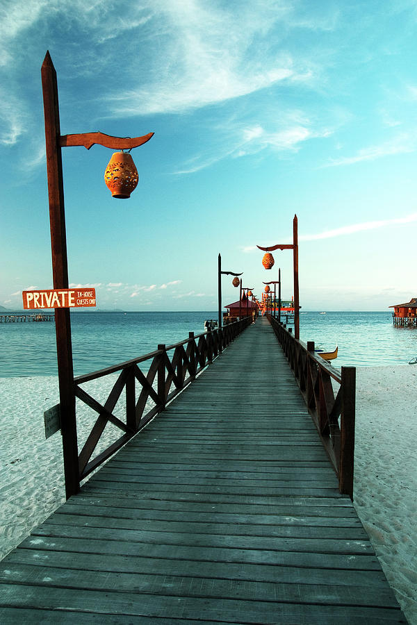 Ocean Photograph - Way To The Ocean by Vera Golovina