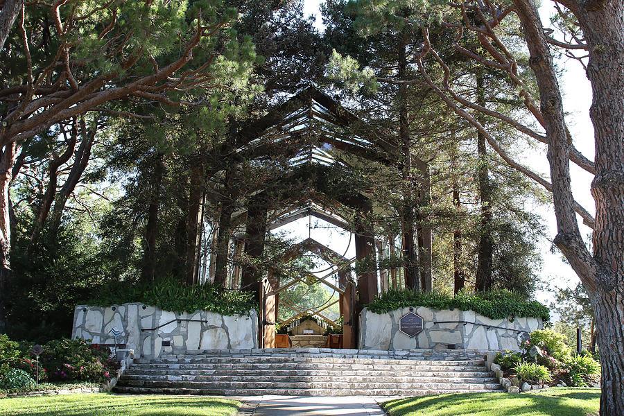 Landscape Photograph - Wayfarers Chapel by Erick Kim