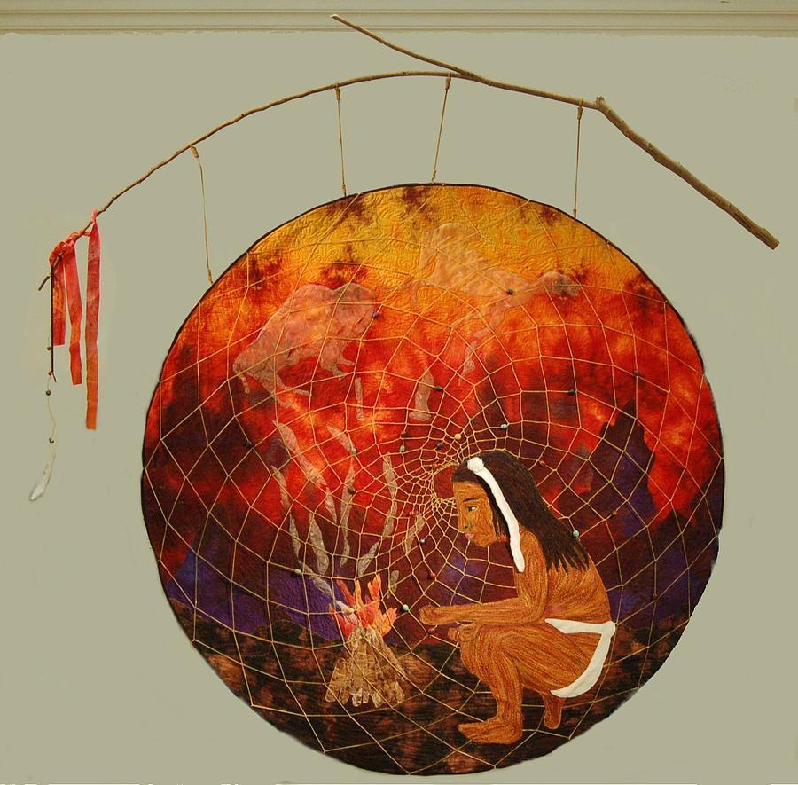 Indian Mixed Media - Waykin by Dolores Fegan