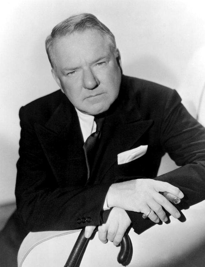 Cane Photograph - W.c. Fields, Paramount Pictures, 1935 by Everett