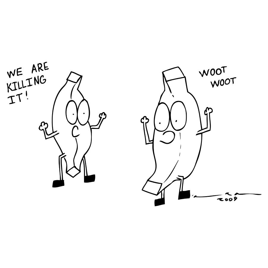 Drawing Drawing - We Are Killing It Comic by Karl Addison