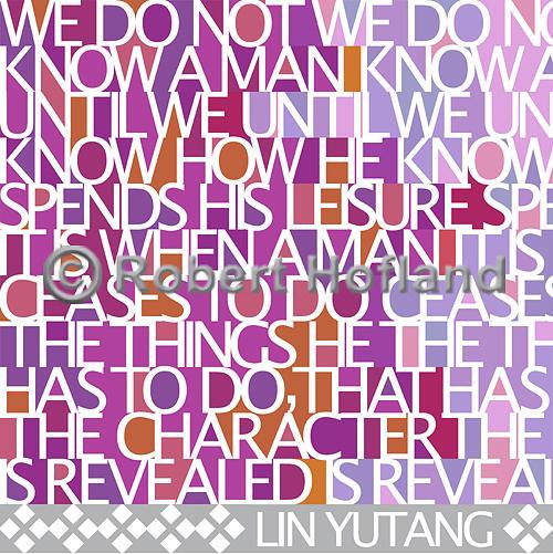 Lin Yutang Digital Art - We Do Not Know A Man by Robert Hofland