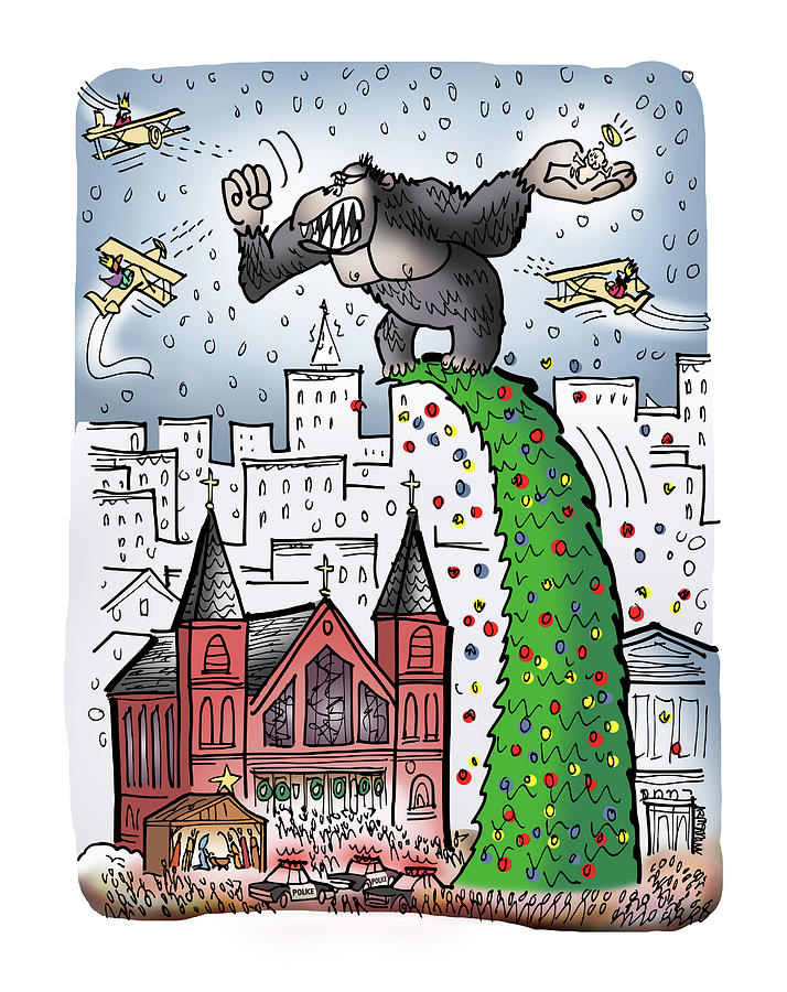 King Kong Kristmas by Mark Armstrong