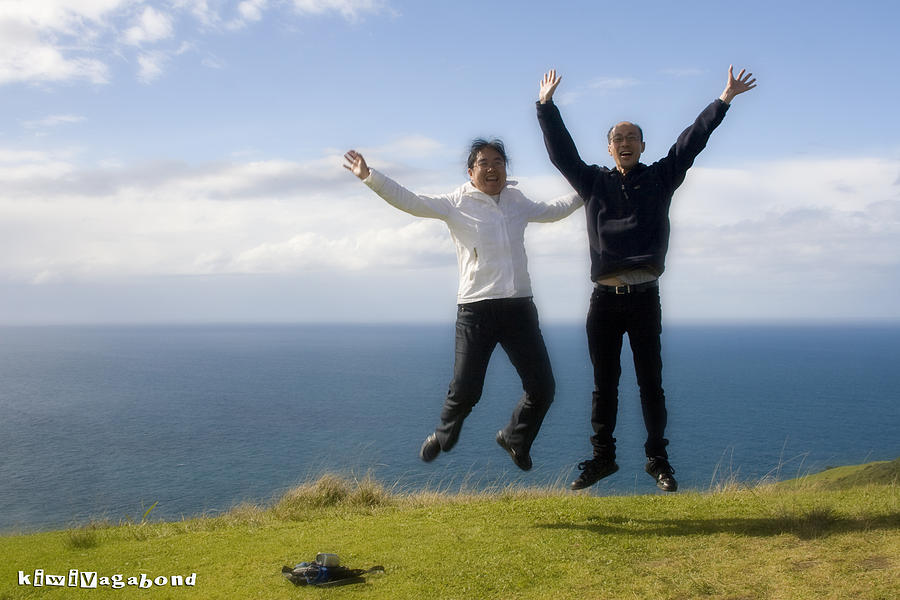 Cape Reinga Photograph - We Love New Zealand by Graham Hughes