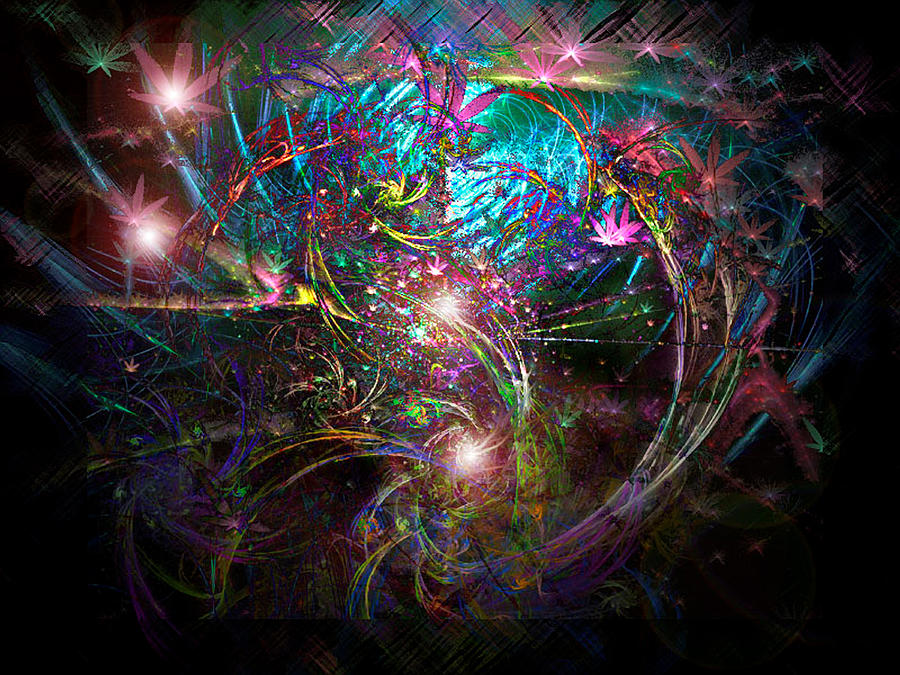 Fractal Digital Art - We Shall Overcome by ReeNee Cummins