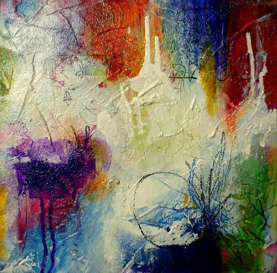 Colorful Painting - We Should Be Dancing by Tracy Bonin