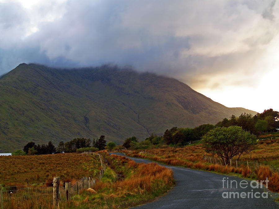 Connemara Photograph - We Took The Road Less Traveled by Patricia Griffin Brett