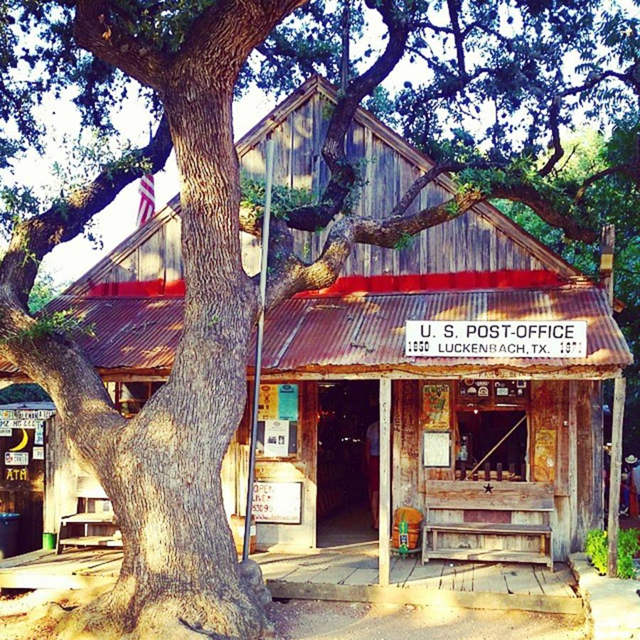 we Went To Luckenbach, Texas... 🎶 Photograph by Sophia Perez