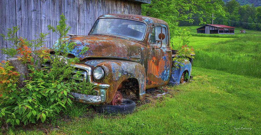 Wears Valley Tn Photograph - Wears Valley 1954 Gmc Wears Valley Tennessee Art by Reid Callaway