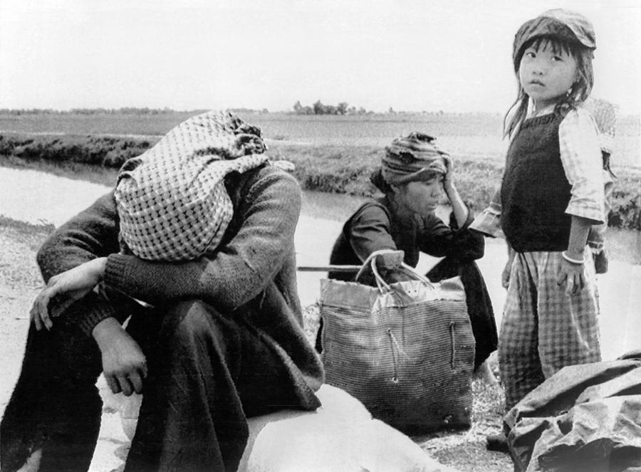 1970s Photograph - Weary Vietnamese Refugees by Underwood Archives