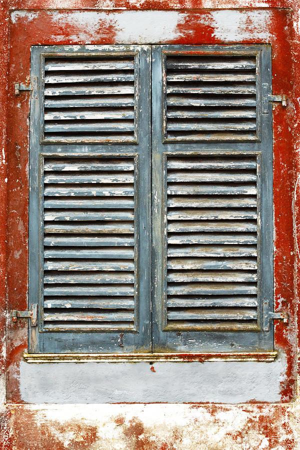 Weather-beaten Photograph - Weather-beaten Window by Gaspar Avila