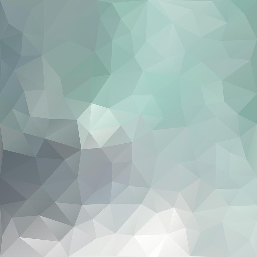 Geometric Digital Art - Weather Forecast Geometric Background by Nessikk