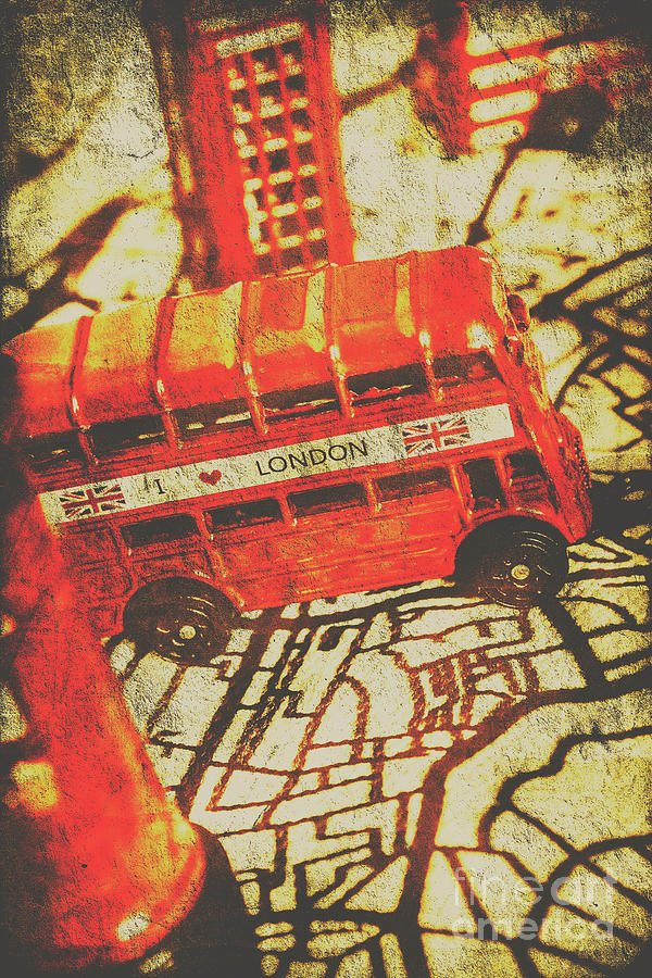 Bus Photograph - Weathered Bus Routes by Jorgo Photography - Wall Art Gallery