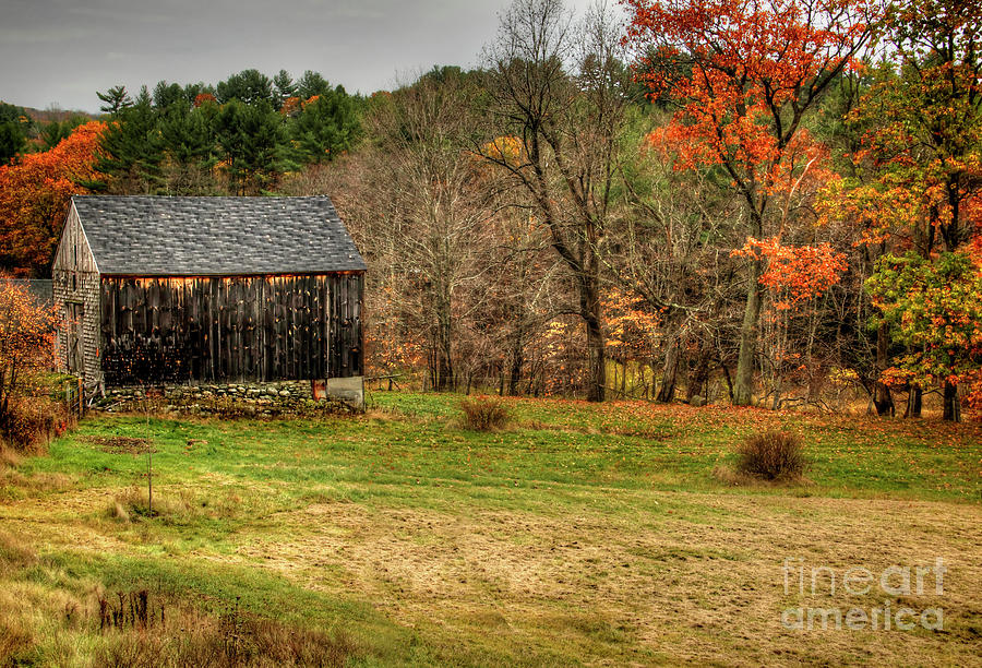 Barns Photograph - Weathered By Time by Diana Nault