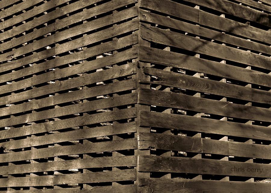 Weathered Corn Crib by Chris Berry