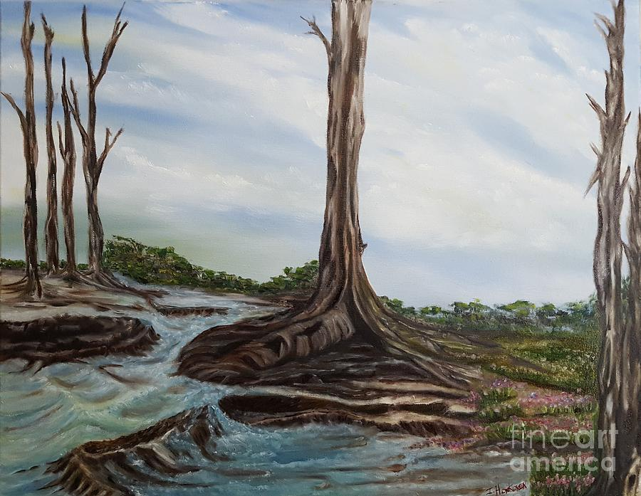 Trees Painting - Weathered by Isabel Honkonen