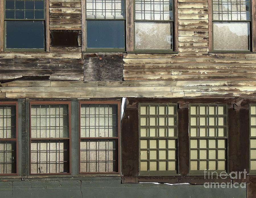 Vintage Photography Photograph - Weathered Windows by Phil Perkins