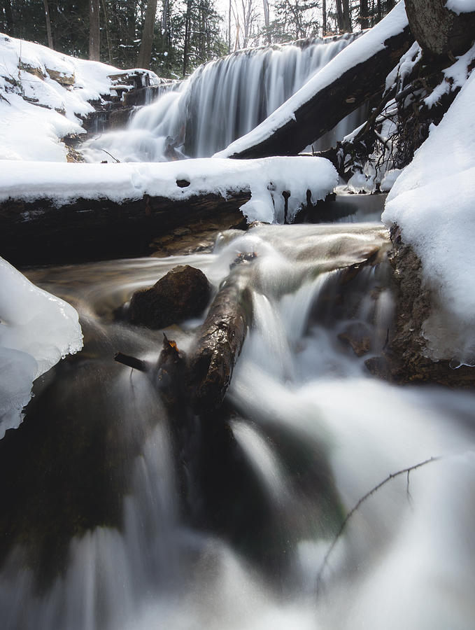 Weavers Creek In Winter Photograph