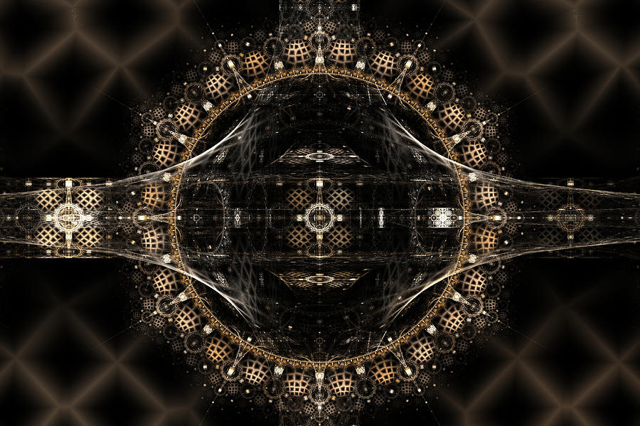Web-mirror Digital Art