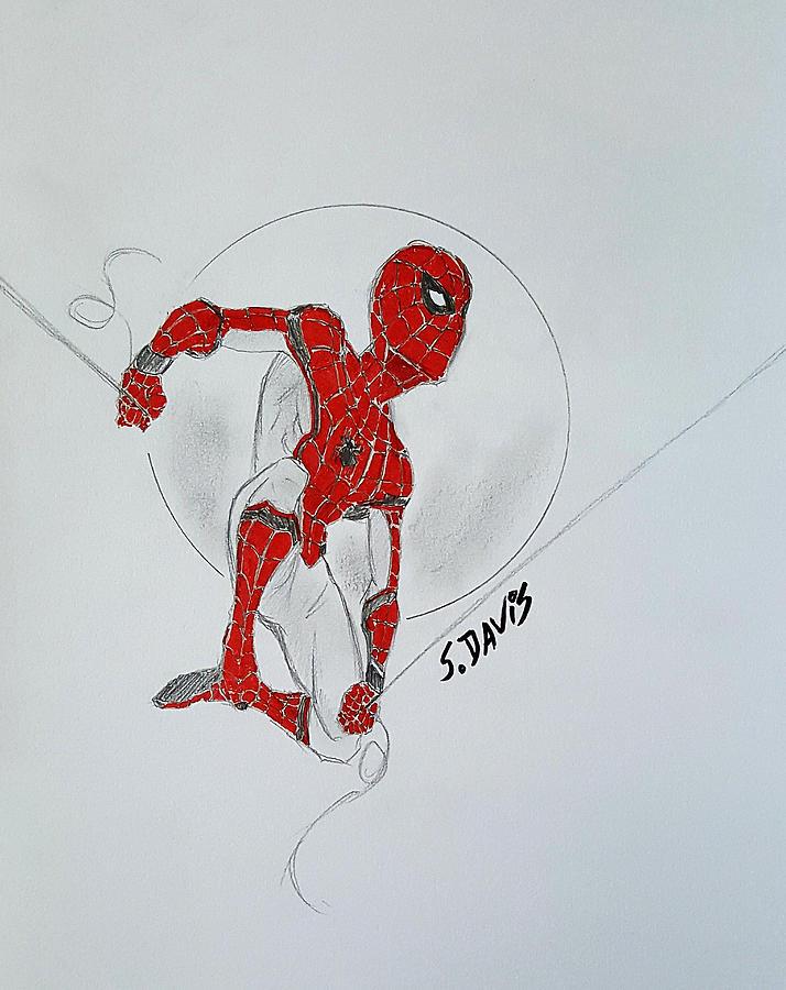 Web Slinger Red Series Verion By Scott Davis