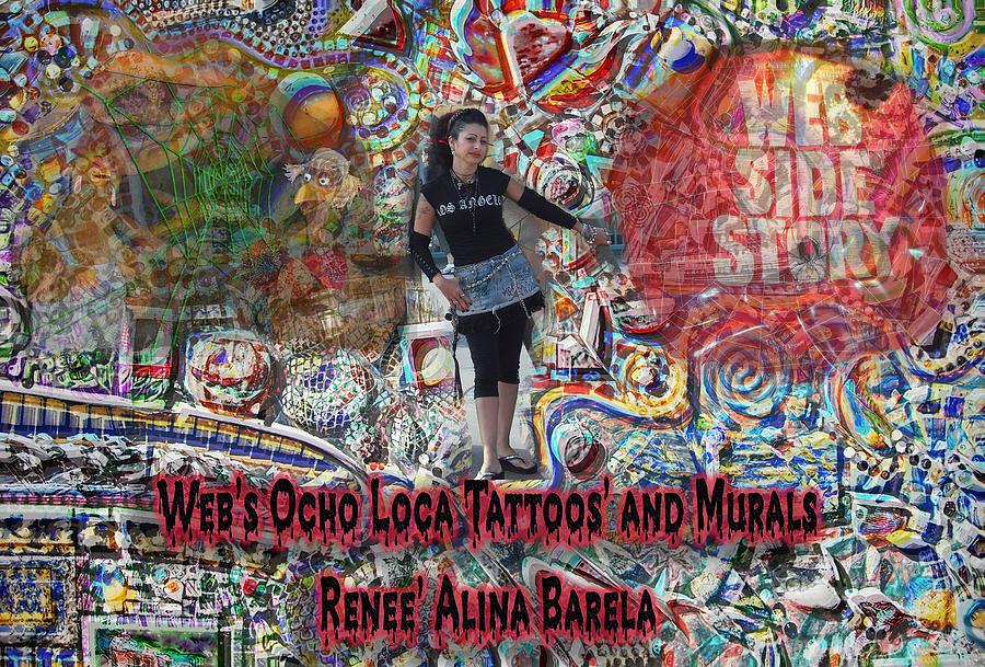 Webs Crazy 8 Art Digital Art by Renee Alina Barela
