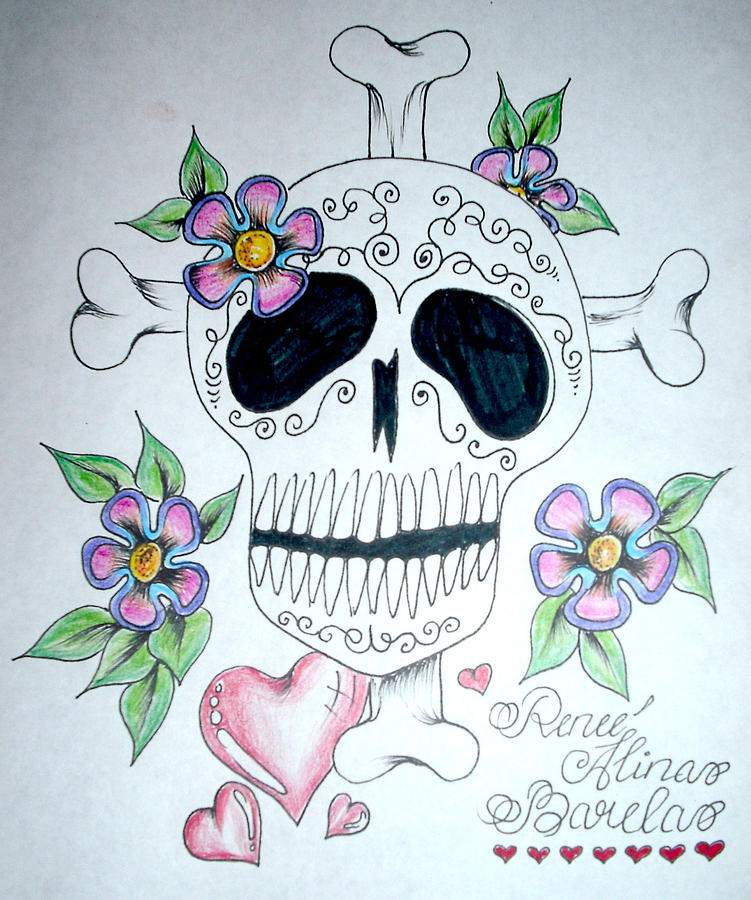 Webs Ocho Loca Style Art Drawing by Renee Alina Barela