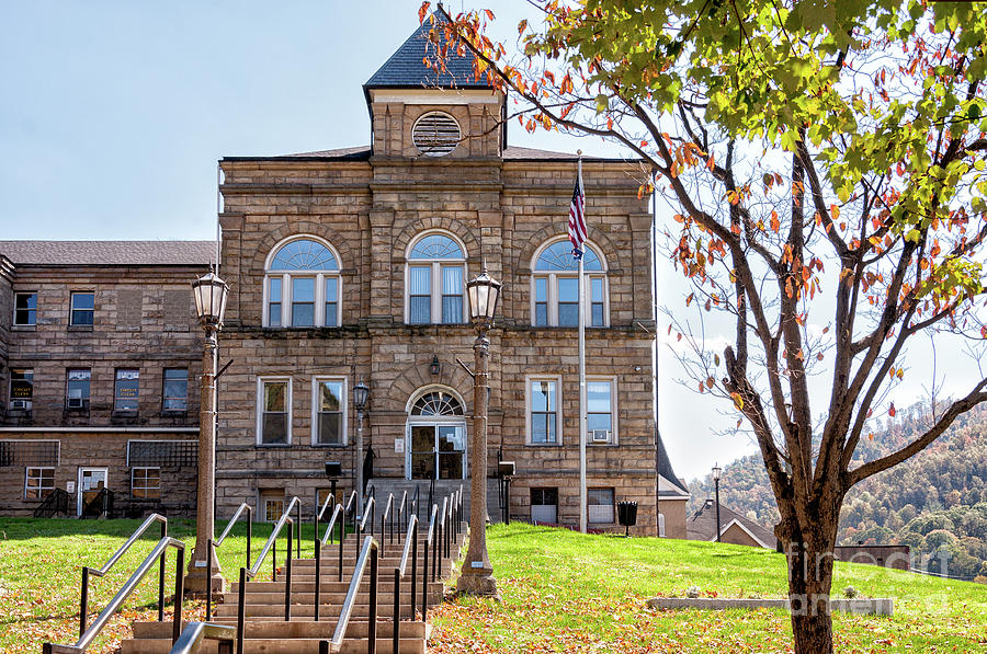 Webster County Courthouse, Wv Photograph